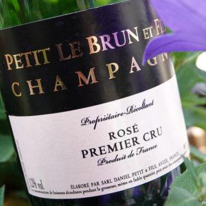 Cuvée Rosé – Champagne Petit LeBrun & Fils