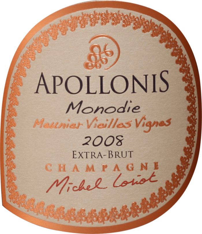 Champagne Apollonis.Monodie