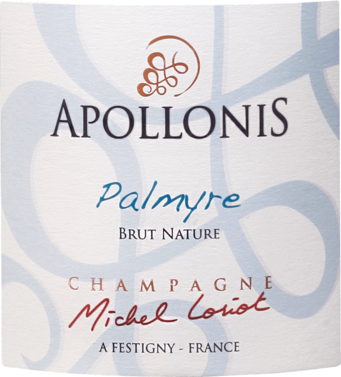 Champagne Apollonis. PALMyre
