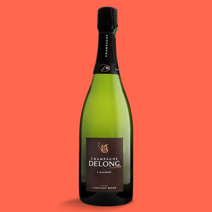 Champagne Delong Instant Boisé