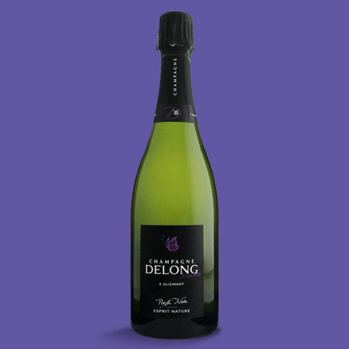 Champagne Delong Esprit Nature Pinot Noir