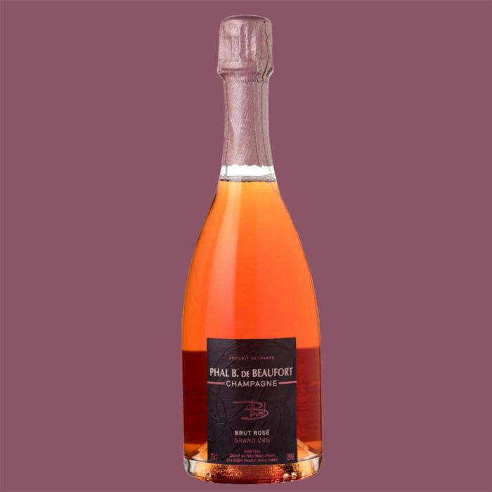 Champagne Phal B de Beaufort Harmony Rosé 2012