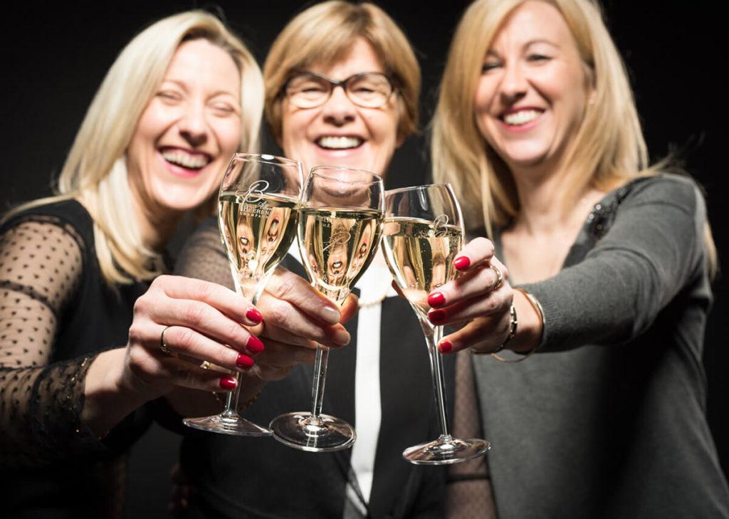 Anne-Laure & Marie-Eve Beerens, Champagne Albert Beerens