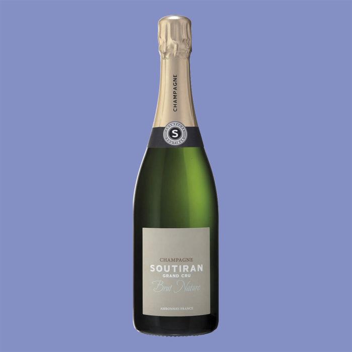Champagne Soutiran Brut Nature
