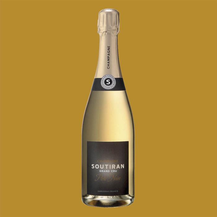 Champagne Soutiran Perle Noir
