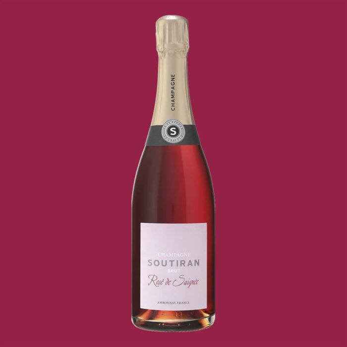 Champagne Soutiran Rosé de Saignée